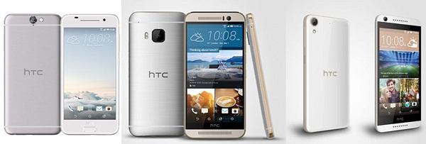 Best smartphones of HTC