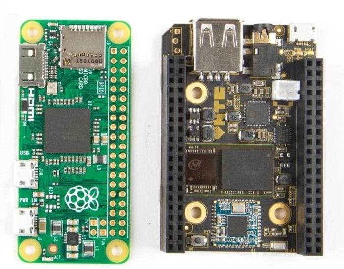 Zero Raspberry Pi vs CHIP