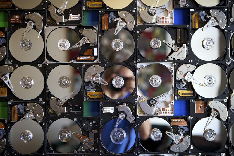 destroy a hard drive