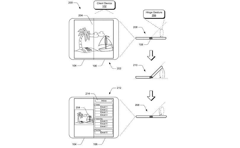 Microsoft patents folding tablet